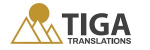 Tiga Translations